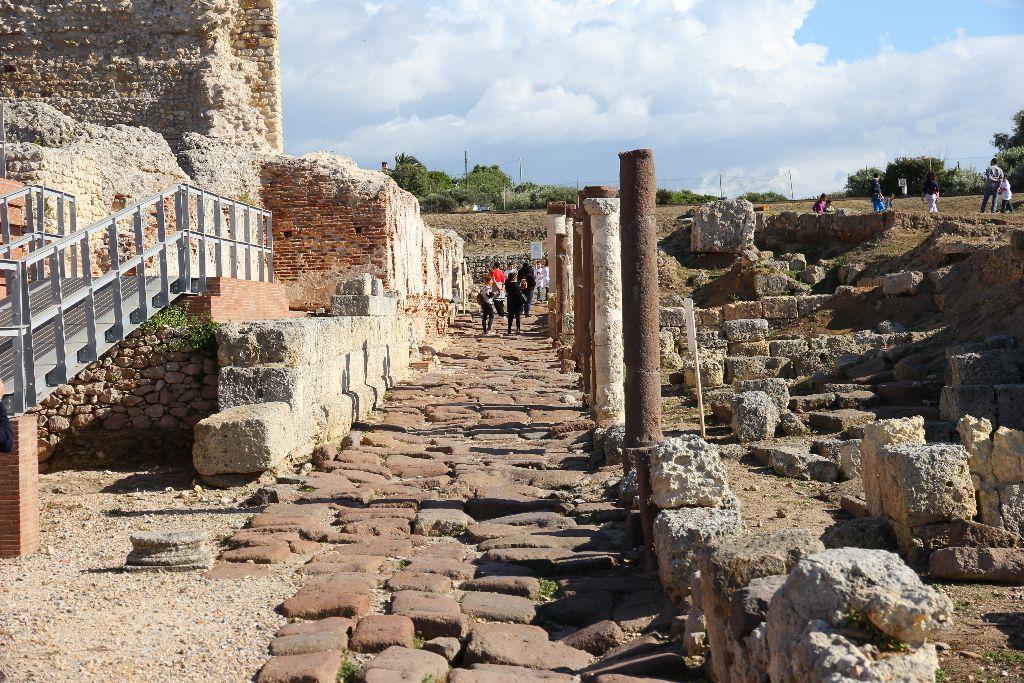 Porto Torres - Terme romane del palazzo di re Barbaro