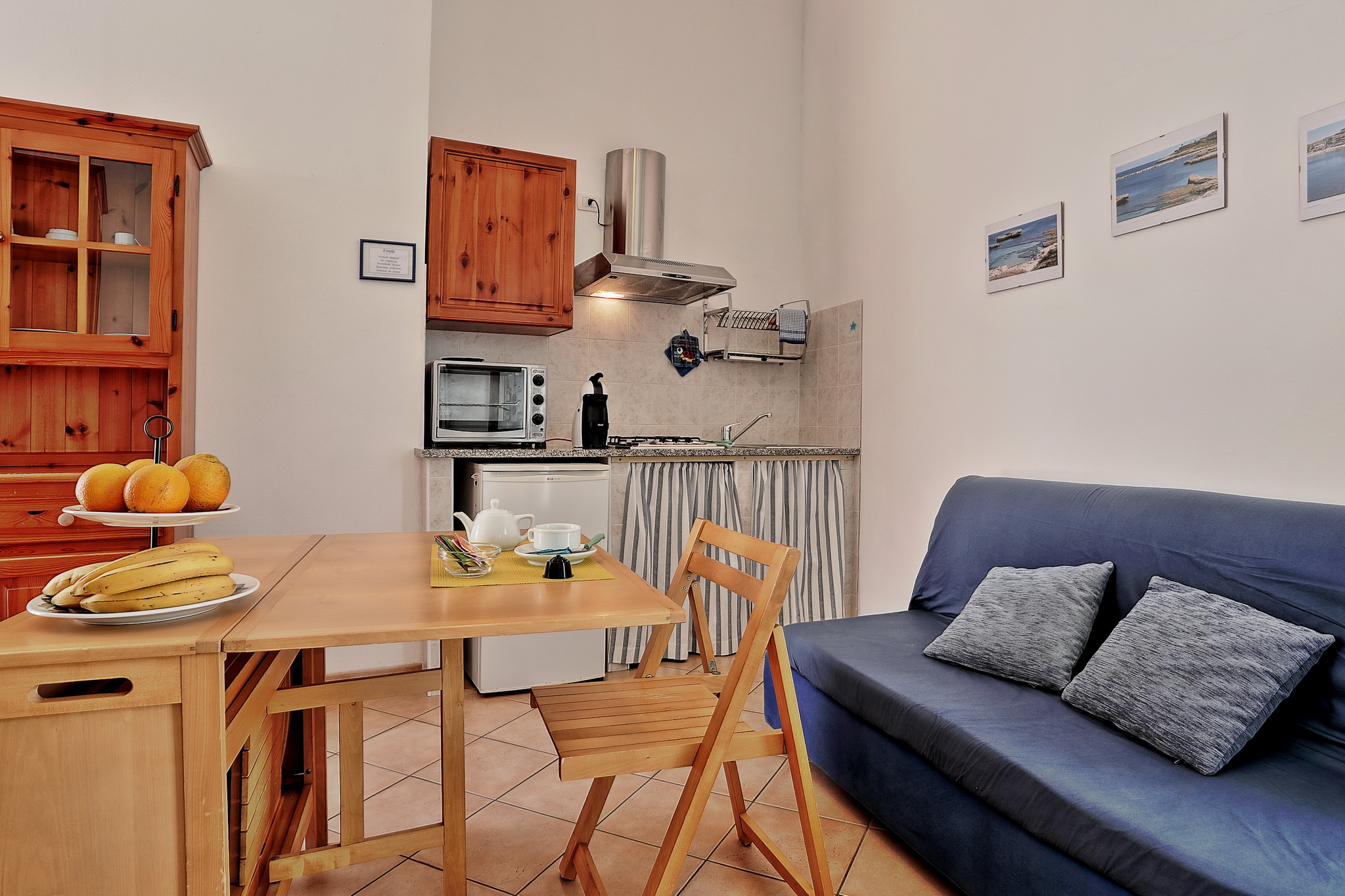 Studio con patio (7)